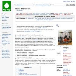 Prusa Mendel/fr