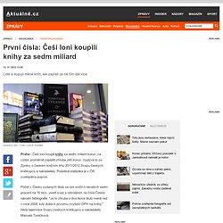 První čísla: Češi loni koupili knihy za sedm miliard