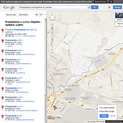 Przedszkola na Hajdowie w Lublinie - Mapy Google