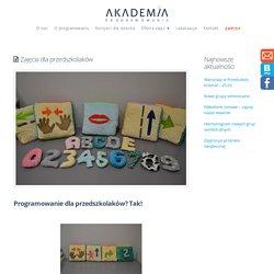 Zajęcia dla przedszkolaków - Akademia Programowania
