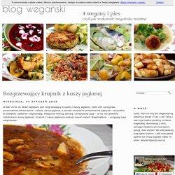 Wegański blog kulinarny z przepisami kuchni wegańskiej 4 wegany i piesRozgrzewający krupnik z kaszy jaglanej - Wegański blog kulinarny z przepisami kuchni wegańskiej 4 wegany i pies