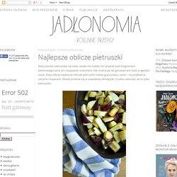 jadłonomia · roślinne przepisy: Najlepsze oblicze pietruszki