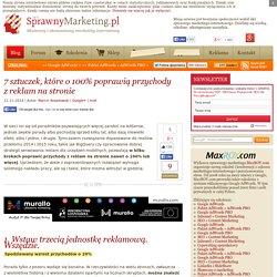 7 sztuczek, które o 100% poprawią przychody z reklam na stronie