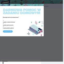 Przysłowia wiosny... - Zadane.pl