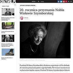 20. rocznica przyznania Nobla Wisławie Szymborskiej
