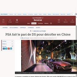 PSA fait le pari de DS pour décoller en Chine