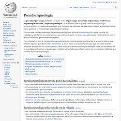 Pseudoarqueología