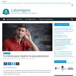 9 critères pour repérer la pseudoscience – LaborAgora