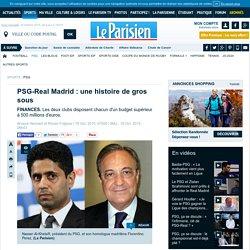 PSG-Real Madrid : une histoire de gros sous