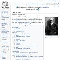 La Psicoanalisi (Wikipedia)