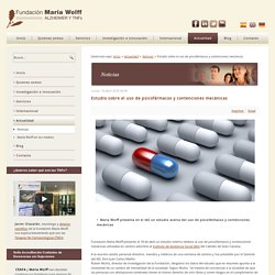 Estudio sobre el uso de psicofármacos y contenciones mecánicas