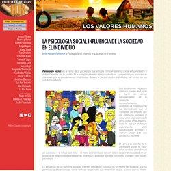 La Psicologia Social Influencia de la Sociedad en el Individuo