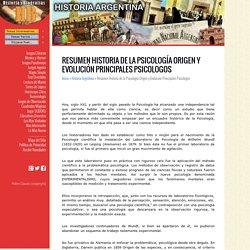 Resumen Historia de la Psicología Origen y Evolución Principales Psicologos