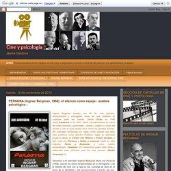 CINE Y PSICOLOGÍA: PERSONA (Ingmar Bergman, 1966): el silencio como espejo - análisis psicológico -