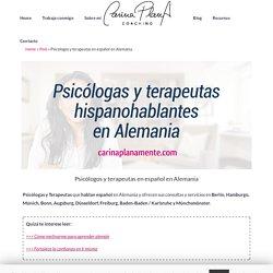 Psicólogos y terapeutas en español en Alemania