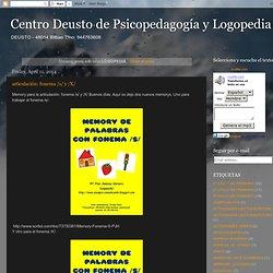 Centro Deusto de Psicopedagogía y Logopedia: LOGOPEDIA