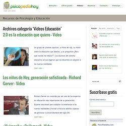 Videos Educación Archives - PsicoPediaHoy