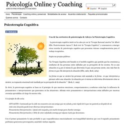 Psicoterapia Cognitiva – Psicología Online y Coaching
