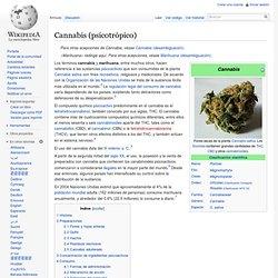 Cannabis (psicotropo)