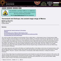 Erowid Psilocybin Mushroom Vault : Article