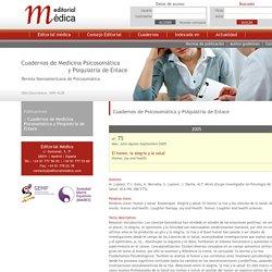 Editorial Médica. Artículos y contenidos en español sobre Psiquiatría, Psicología. Revista Cuadernos de Psicosomática y psiquiatría de enlace.