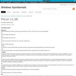 PsList v1.28