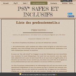 Psy Safe et Inclusifs