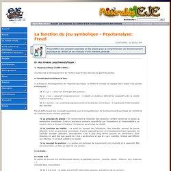 La fonction du jeu symbolique - Psychanalyse: Freud Accompagnement des enfants Le métier d