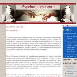 - Psychanalyse et Hypnose - BIOGRAPHIE SOMMAIRE DE Sigmund Freud