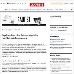 Psychanalyse : des théories sexuelles machistes et dangereuses