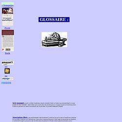 """Glossaire - Lexique - vocabulaire de psychanalyse - """" Entreprendre une psychanalyse """""""