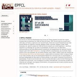 Editions du Champ lacanien - Ecole de Psychanalyse des Forums du Champ lacanien