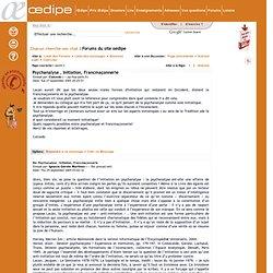 Le portail de la psychanalyse francophone -