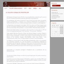 La Psychanalyse Lacanienne A Montpellier