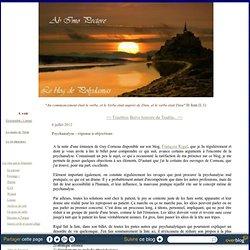 Psychanalyse : réponse à objections - Ab Imo Pectore : le blog de Polydamas