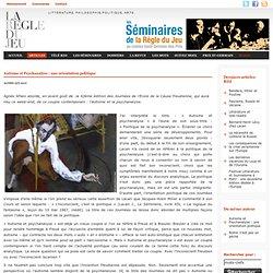 Agnès Aflalo, Autisme et Psychanalyse : une orientation politique