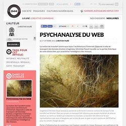 Psychanalyse du web