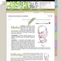 L'influence de la psychanalyse sur la philosophie