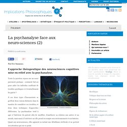 La psychanalyse face aux neuro-sciences (2