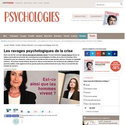 La psychanalyste Claude Halmos dénonce les conséquences terrible de la crise