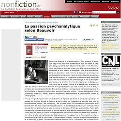 La passion psychanalytique selon Beauvoir
