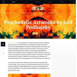Psychedelic Artworks by Leif Podhajsky