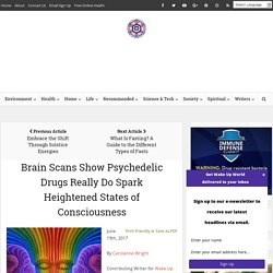 Brain Scans Show Psychedelic Drugs Really Do Spark Heightened States of Consciousness