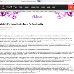 Psychedelics As Tools For Spirituality