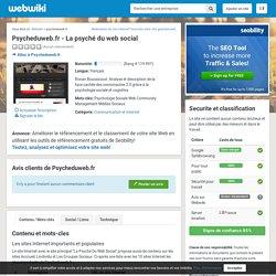 Psycheduweb.fr - La psyché du web social - Avis clients