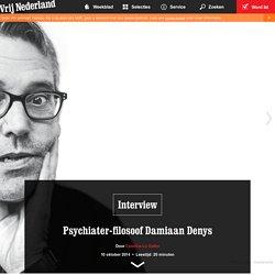 Psychiater-filosoof Damiaan Denys