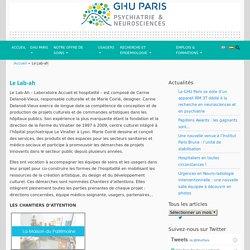 Le Lab-ah - GHU Paris psychiatrie & neurosciences