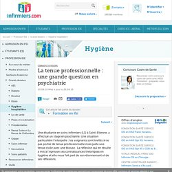 Psychiatrie : quand votre tenue stresse les patients