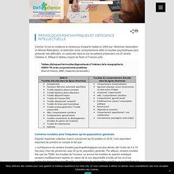 Pathologies psychiatriques et Déficience intellectuelle « Defiscience