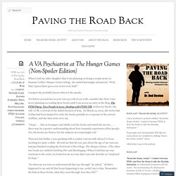 A VA Psychiatrist at The Hunger Games (Non-Spoiler Edition) « Paving the Road Back